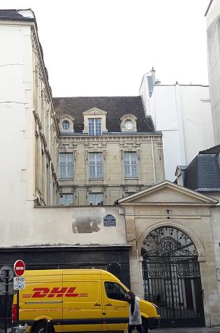 7 rue des Grands-Augustins Paris VIème