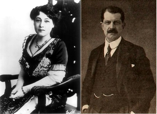 Alice Guy et Léon Gaumont