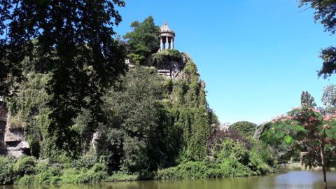 Buttes-Chaumont-temple de la Sibylle