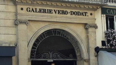 fronton de la galerie Véro-Dodat