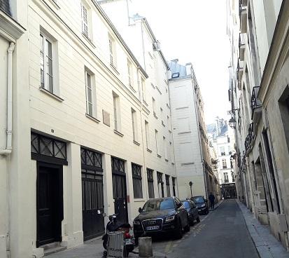 imprimerie de Balzac rue Visconti VIème arrondissement, Paris