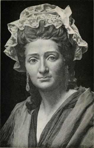 portrait de cire de madame tussaud