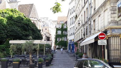 rue des Barres-Paris IVème arr.