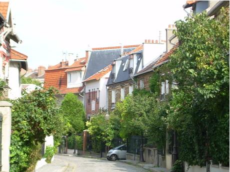 rue irénée Blanc-Campagne à Paris